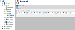 Carousel Model Definition Item